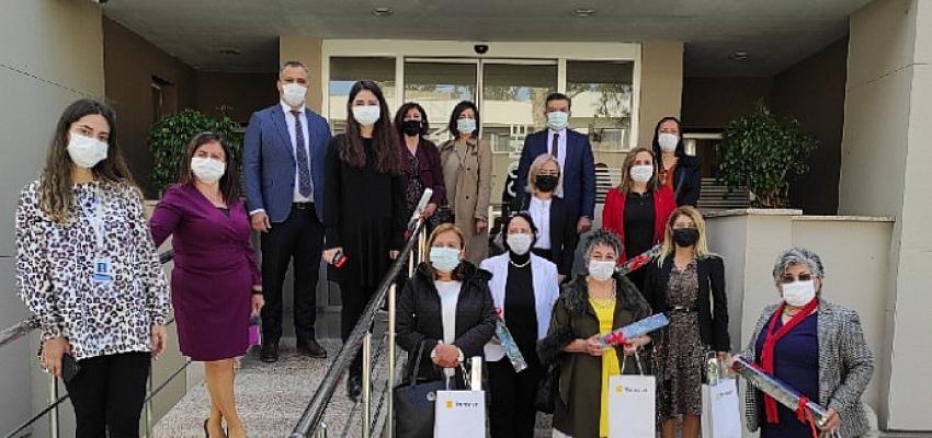 Toroslar EDAŞ Adana'da kadın muhtarları ağırladı