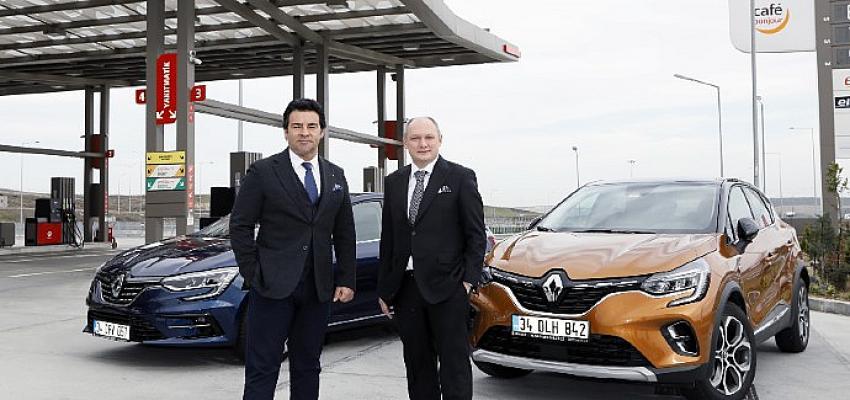 TOTAL'den yapacağınız akaryakıt alışverişleriyle Renault aracınız güvende…