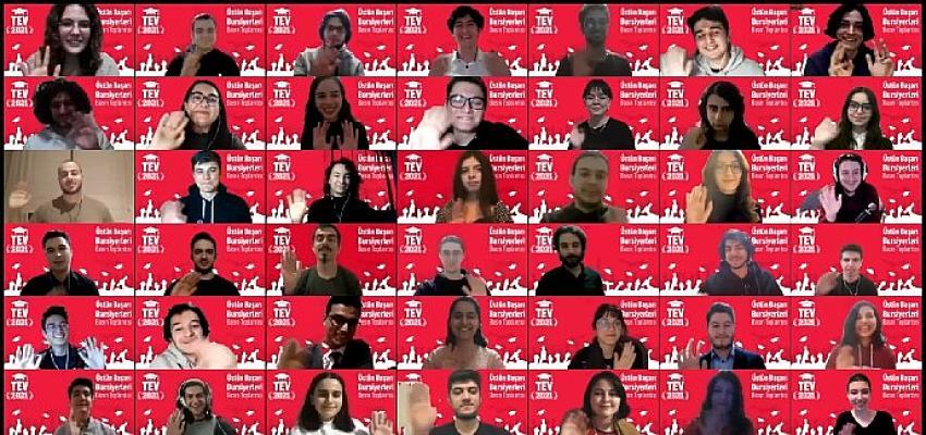 Türk Eğitim Vakfı Üstün Başarı Bursiyerleri Basına Tanıtım Toplantısı Online Olarak Gerçekleşti