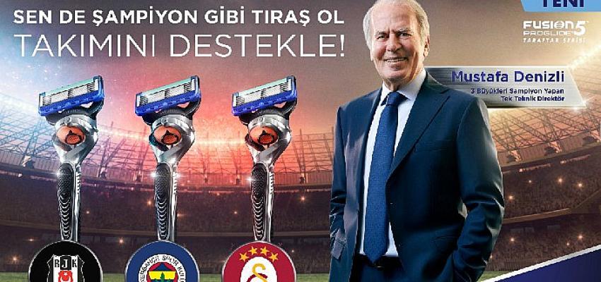Türk Futbolunun Efsane İsmi Mustafa Denizli, Gillette'in Reklam Filmi İçin Kamera Karşısına Geçti!