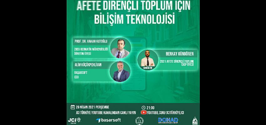 Afete Dirençli Toplum için Bilişim Teknolojisi Online Panel