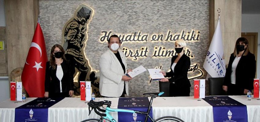 Bilnet Okulları, Bodrum Halikarnas Granfondo Uluslararası Bisiklet Yol Yarışı'nın ana sponsoru oldu.