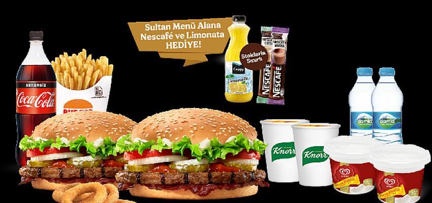 Burger King®'den Ramazan'a Özel Lezzet Pastırmalı Whopper® ve Sultan Menü