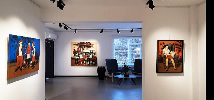 """Cadde 160 Art Gallery, 27 Nisan-5 Haziran tarihleri arasında Orhan Umut 56. Kişisel sergisi """"Yüzleşme"""" ile sanatseverleri buluşturuyor."""