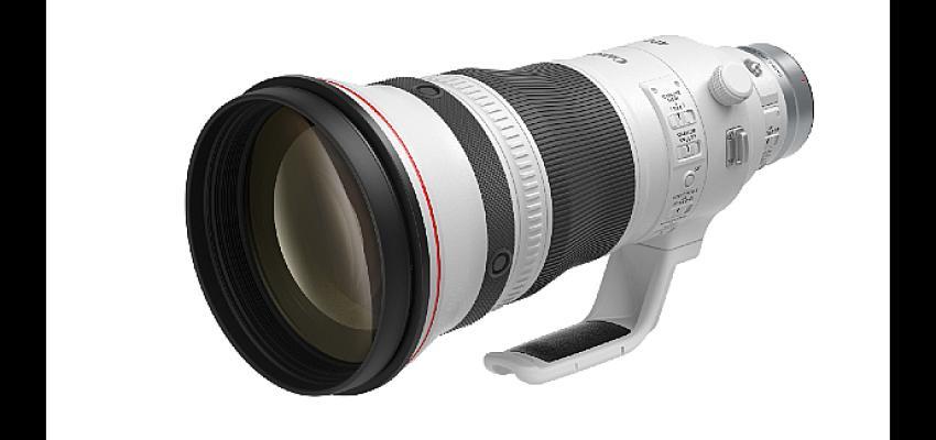 Canon'dan dünyada bir ilk: Odaklanma şampiyonu üç yeni RF lens