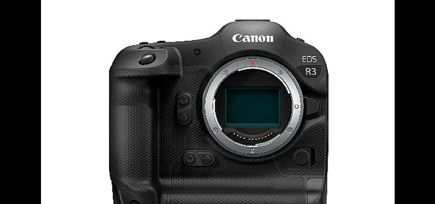 Canon'dan Profesyonellere Zorlu Şartlarda En İyi Çekim Kalitesi ve Deneyimi Sunan EOS R3