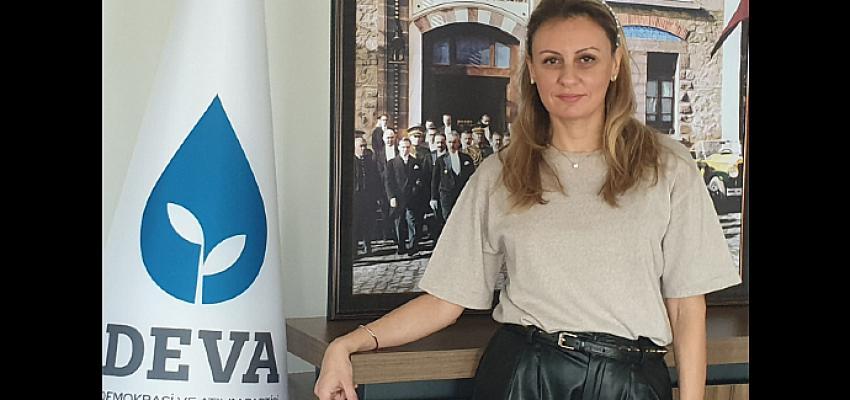 DEVA Partisi İzmir İl Başkanı Seda Kaya Ösen'den 23 Nisan Mesajı