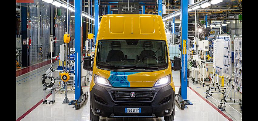 DHL Express elektrikli adrese teslimat araçları için Fiat Professional ile iş birliği yaptı