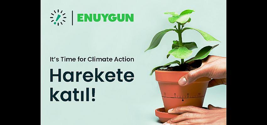Enuygun Dünyanın Geleceğini Korumak İçin Time for Climate Action'ı Destekliyor