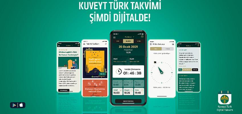 Kuveyt Türk'ün geleneksel duvar takvimi artık dijitalde