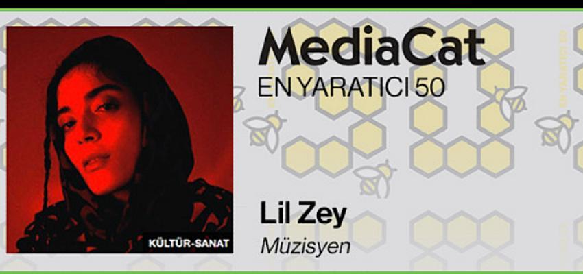 Lil Zey, MediaCat'in En Yaratıcı 50 Listesinde!
