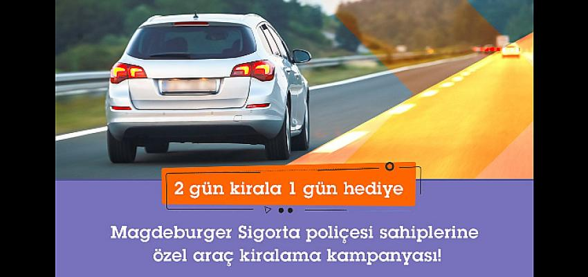 Magdeburger Sigorta poliçe sahiplerine SIXT'ten avantajlı araç kiralama paketleri