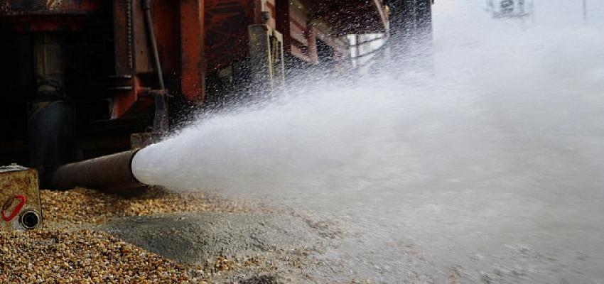 Mart ayında 449 bin ton su kullanıldı
