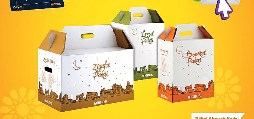 Migros'un 40'a varan tasarruf sağlayan Ramazan Paketleri ile bereketli sofralar