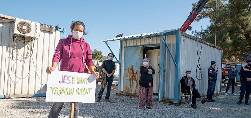 Orhanlı köylüleri pandemi yasaklarına rağmen yapılmak istenen enerji santrali toplantısına isyan etti