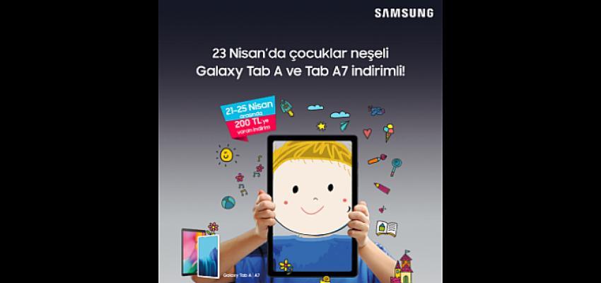 Samsung Galaxy tabletler sayesinde çocuklar öğrenirken güvenli ortamlarda da eğleniyor!