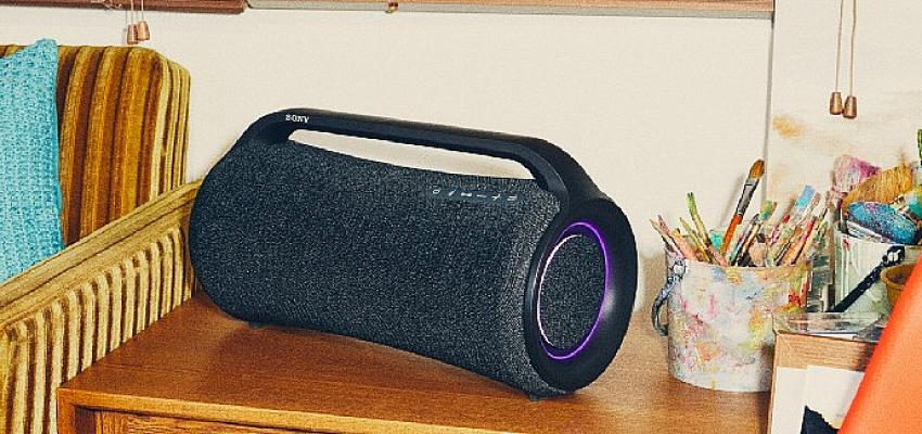 Sony, güçlü kablosuz hoparlörlerden oluşan yeni X-Serisinin üç hoparlörünü tanıttı