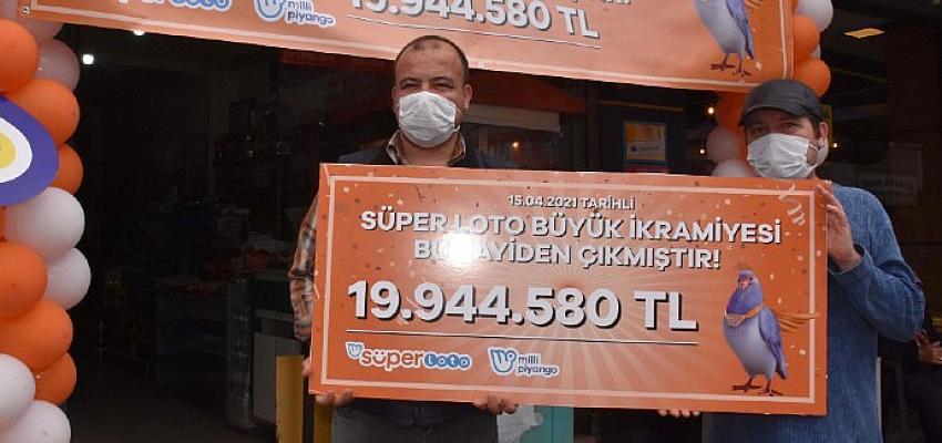 Süper Loto'da şans İzmir, Gaziemir'e güldü