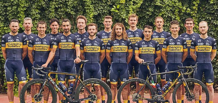 Tip1 Diyabetli Yarışçılar Cumhurbaşkanlığı Bisiklet Turu'na katılıyor