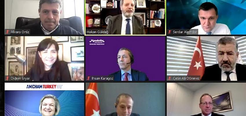 """Türkiye'nin yatırım çekiciliği ve teşvik mekanizmaları """"Küresel Değer Zincirleri Sohbetleri – Yatırım Perspektifi"""" webinarında ele alındı"""