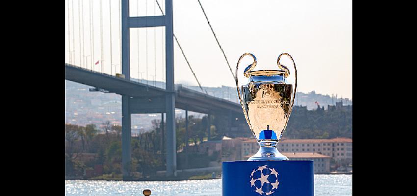 UEFA Şampiyonlar Ligi Kupası Pepsi® ve Ruffles® ev sahipliğinde İstanbul Boğazı ile buluştu