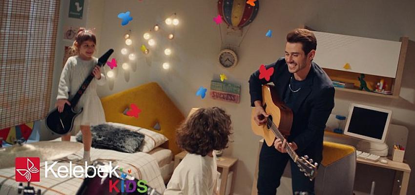 Ünlü şarkıcı Cem Belevi, Kelebek Mobilya'nın reklam yüzü oldu
