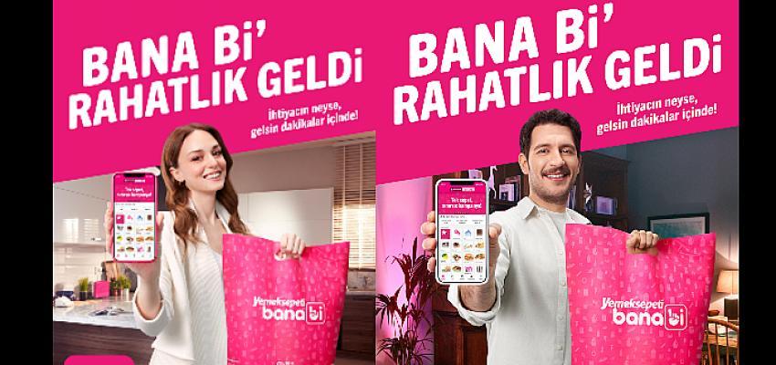 Uraz Kaygılaroğlu ve Nilperi Şahinkaya'ya Yemeksepeti Banabi ile Rahatlık Geldi!