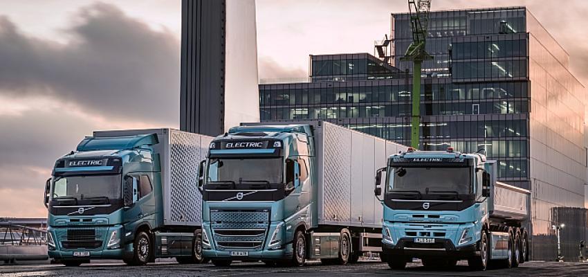 Volvo Trucks, karayolu taşımacılığında elektrikli araçlara geçmeye hazırlanıyor