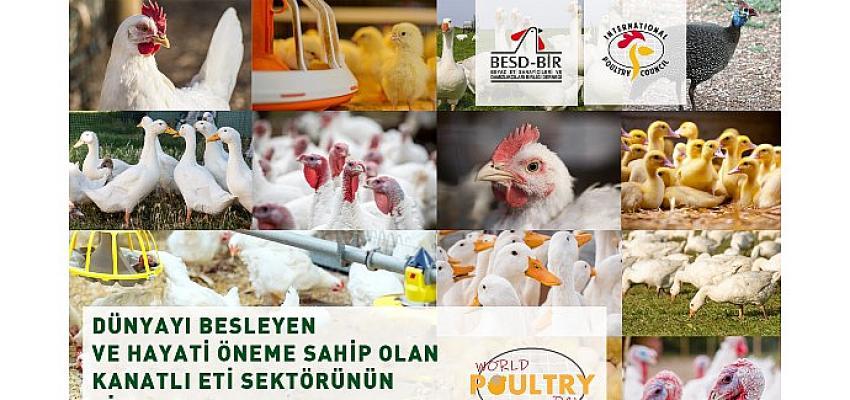 """10 Mayıs Dünya Kanatlı Günü """"Beyaz et sektörü çalışanlarıyız ve üretiminden gurur duyuyoruz"""""""