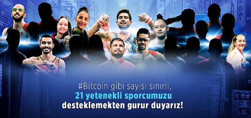 21 Olimpik Millî Sporcu'ya BtcTurk'ten 2.1 milyar TL destek