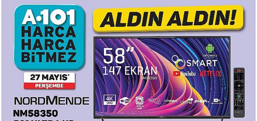 27 Mayıs haftasının uygun fiyatlı teknolojik ürünleri A101 marketlerinde