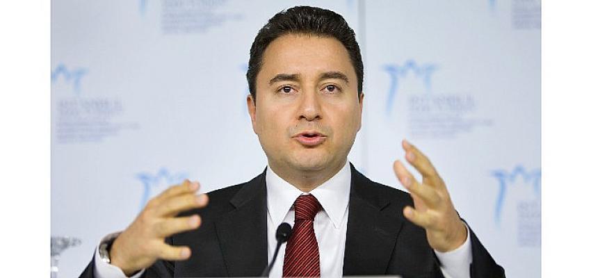 Ali Babacan: 'Muhalefetin güçlendirilmiş parlamenter sistem konusunda ortak bir vizyonu olmalı'