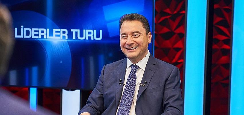 Ali Babacan: 'Yüksek faiz ve yüksek enflasyon sonuç, Sayın Erdoğan sebep'