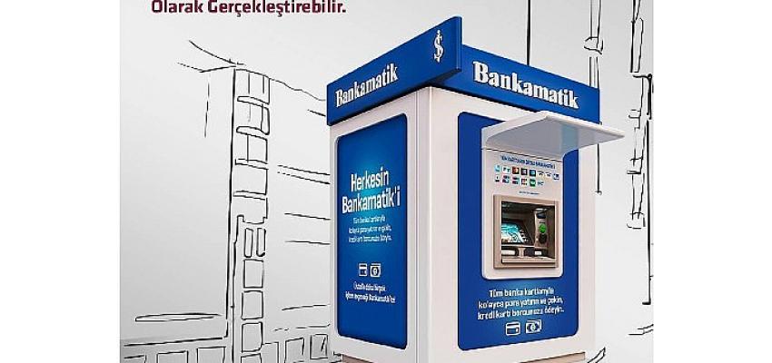 Alternatif Bank – İş Bankası ortak Bankamatik kullanımı