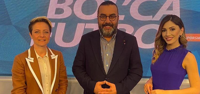 Beşiktaş Kadın Futbol Teknik Direktörü Bahar Özgüvenç, D-Smart'ın Spor Smart kanalında yayınlanan Bol'ca Futbol programında Emre Bol ve Seçil Menteş'in konuğu oldu.