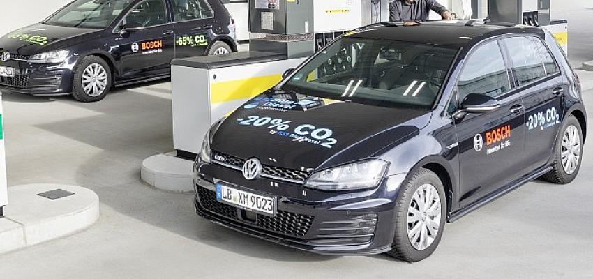 Bosch, Shell ve Volkswagen yüzde 20 daha düşük karbonlu yenilenebilir benzin geliştirdi