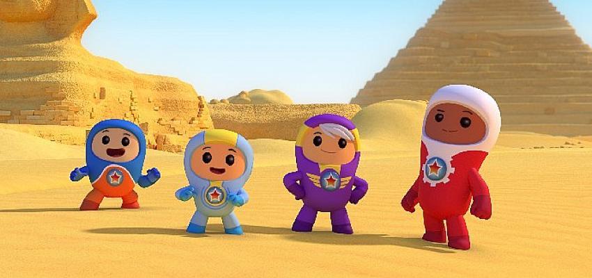 Bu Yaz Dünya'yı Keşfediyoruz: Go Jetters Geri Dönüyor!