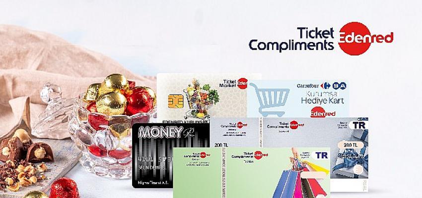 Çalışanların bayram hediyesi Ticket Compliments'ta