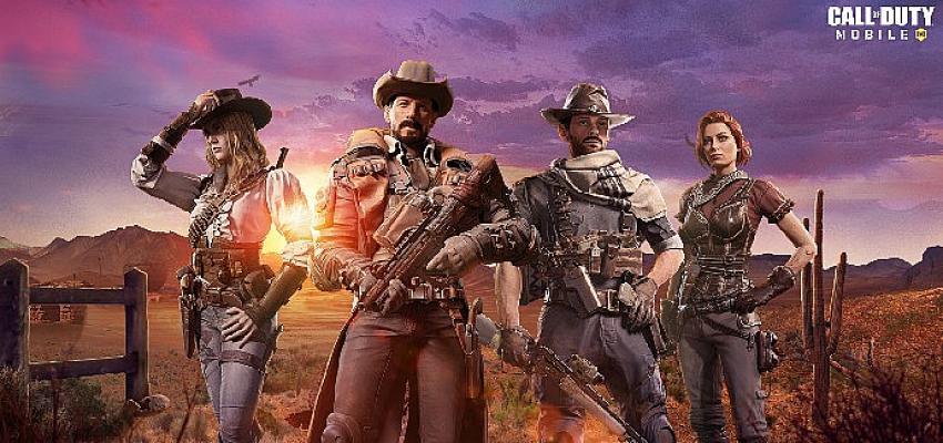 Call of Duty: Mobile'da Vahşi Batı rüzgarları esecek