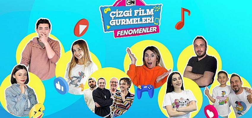 Cartoon Network'ün kahramanları eğlenceli videolarda Youtube fenomenleriyle buluşuyor!