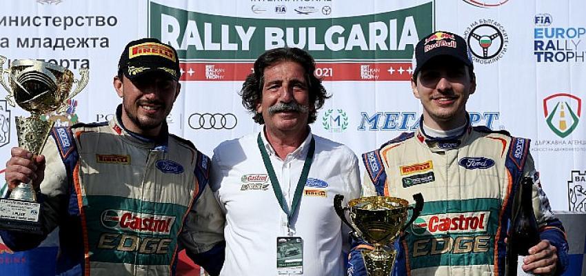 Castrol Ford Team Türkiye, Bulgaristan Rallisi'nde genç pilotu Ali Türkkan ile birinciliği elde etti!