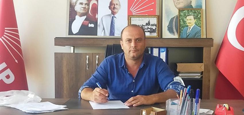 CHP Ahmetli İlçe Başkanı Halil Buran, ekonomiyi değerlendirdi