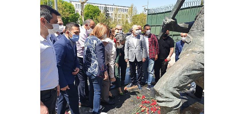 CHP Ankara İl Başkanlığı olarak 1 mayıs dayanışma gününde basın açıklaması yaptık