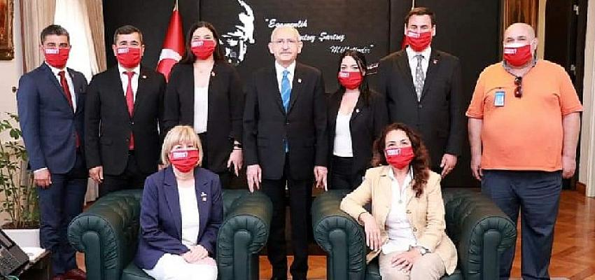 CHP Bodrum İlçe Örgütü'nden Ankara Çıkarması