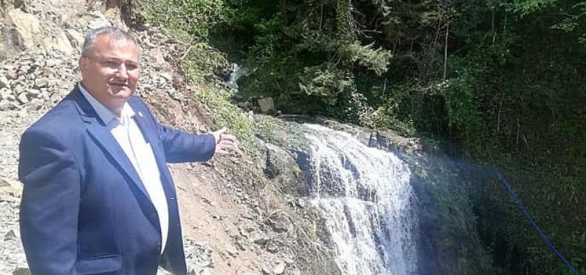 CHP'li Tuncer, taş ocağına karşı mücadele eden köylülere destek verdi