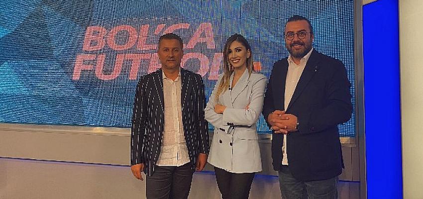 Giresunspor Başkanı Hasan Karaahmet D Smart'ın konuğu oldu