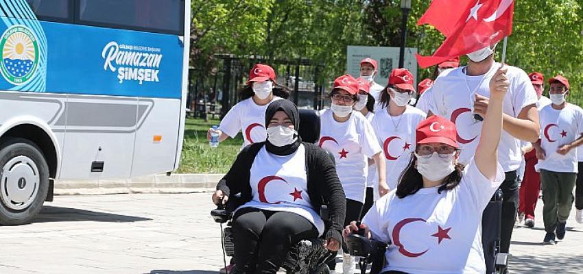 Gölbaşı Belediyesi düzenlediği etkinliklerle; 19 Mayıs Atatürk'ü Anma Gençlik ve Spor Bayramı coşkusunu yaşattı.
