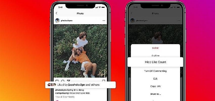 Instagram'da insanlar beğeni sayıları konusunda daha fazla kontrole sahip olacak