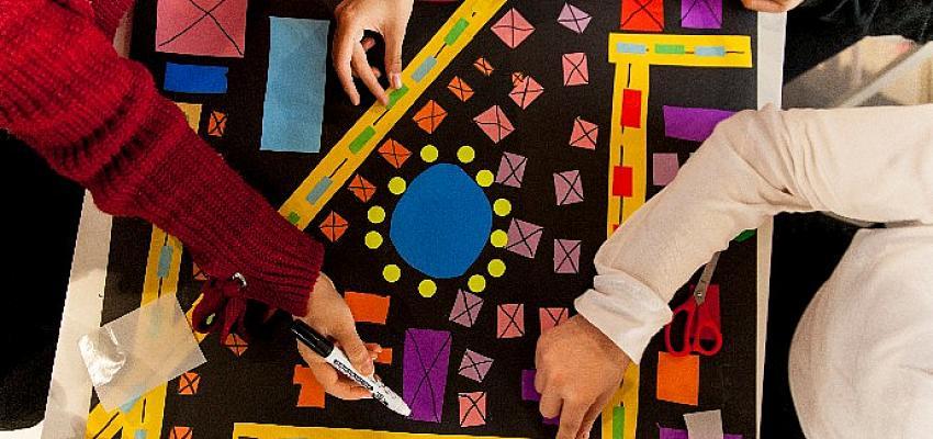 İstanbul Modern'den çocuklara Lirik mi Geometrik mi? atölyesi