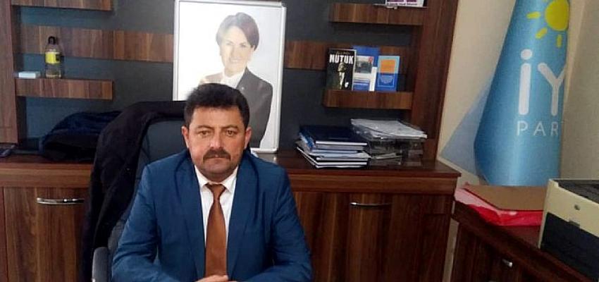 İyi Parti Ardahan İl Başkanı Taşkın Polat, üreticilerin sorunlarıyla ilgili açıklamada bulundu